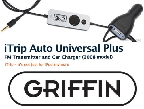 Griffin iTrip Auto Universal Plus pt orice iPod