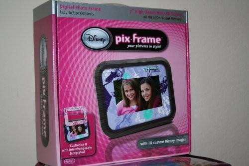 Rama Foto digitala Disney Pix Frame - Princess / Hannah Montana - PRET cu DISCOUNT