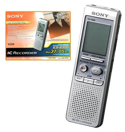 Reportofon digital Sony ICD-B300